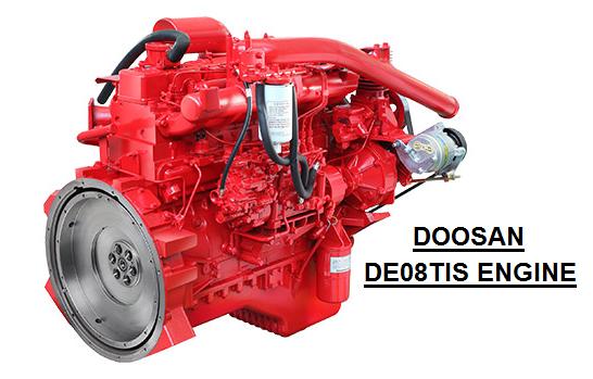 DOOSAN DE08TIS ENGINE купить в МОСКВЕ б.у. АВТО-ФЛИТ - грузовики, спецтехника, автобусы +7(495)150-2223