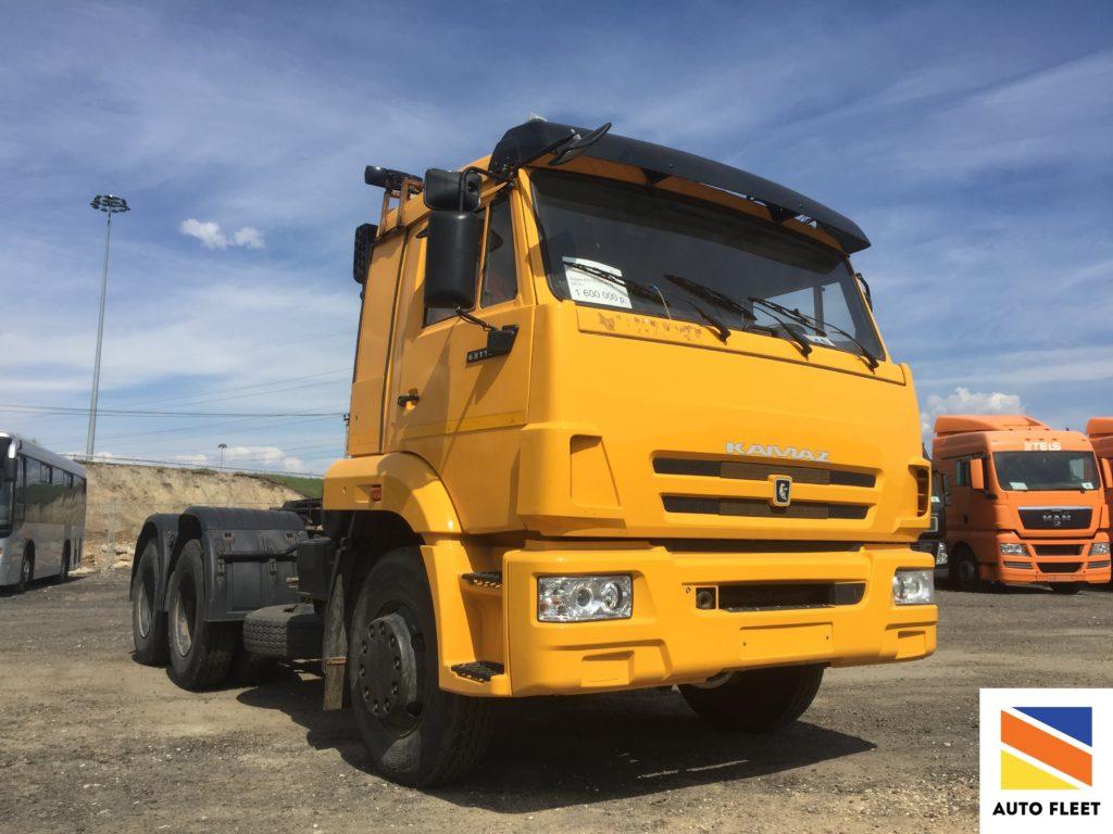 Седельные тягачи КАМАЗ 65116-N3
