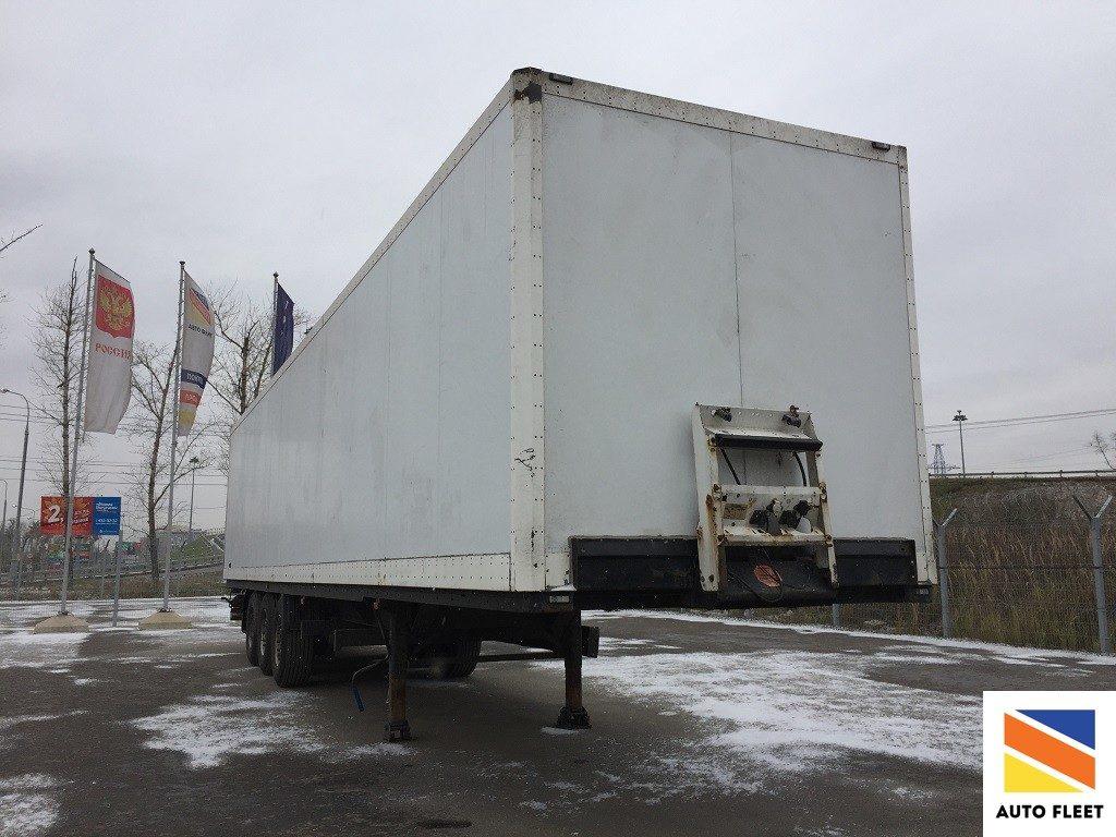 Полуприцеп Krone SD цельнометаллический фургон. Полуприцеп изотерма.