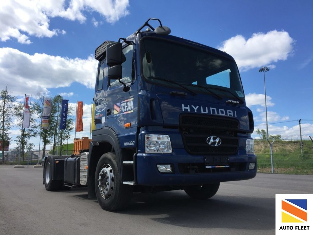 Hyundai HD500 тягач