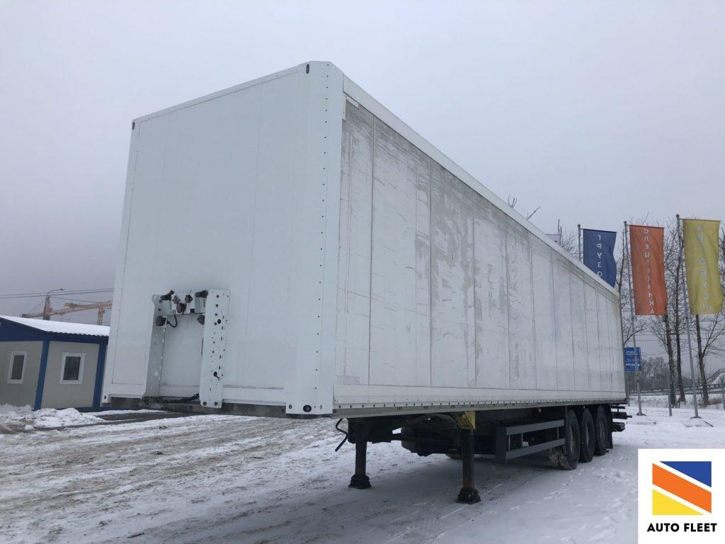 Schmitz SKO24 - изотермический полуприцеп c гидробортом купить в Москве