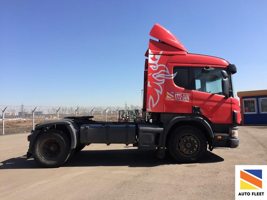 Scania P340 тягач магистральный
