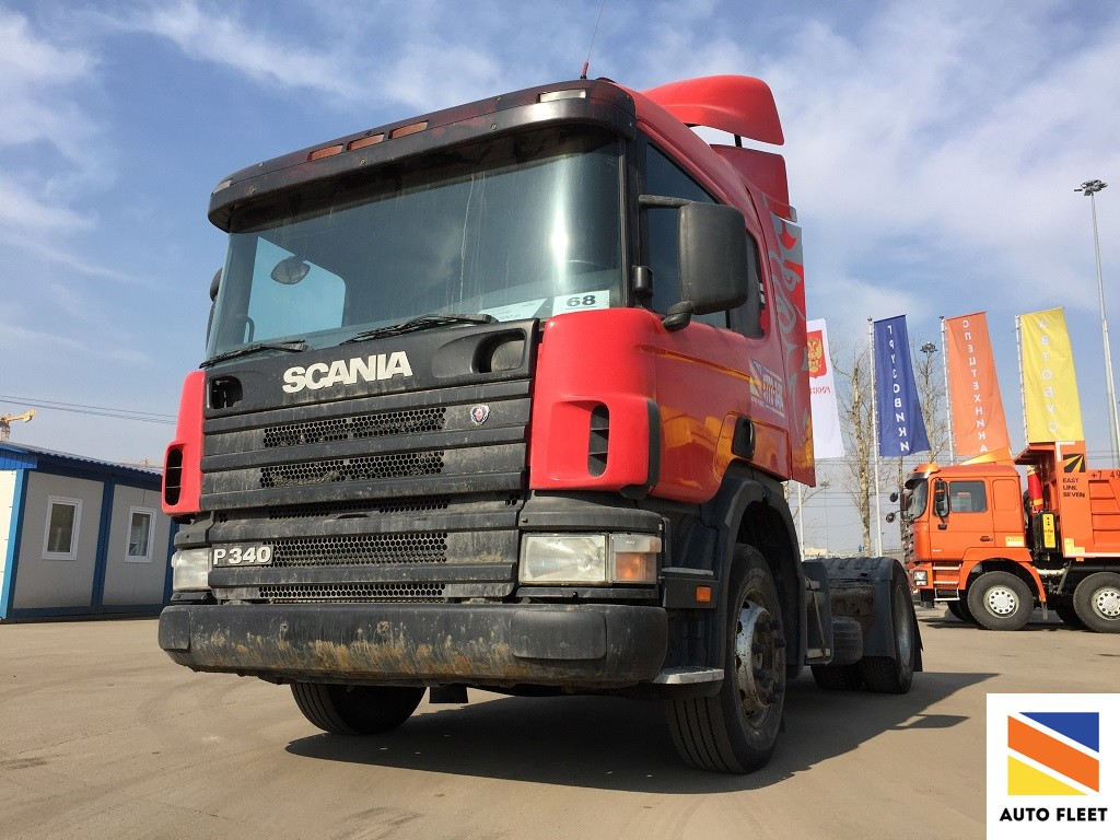 Scania P340 магистральный седельный тягач