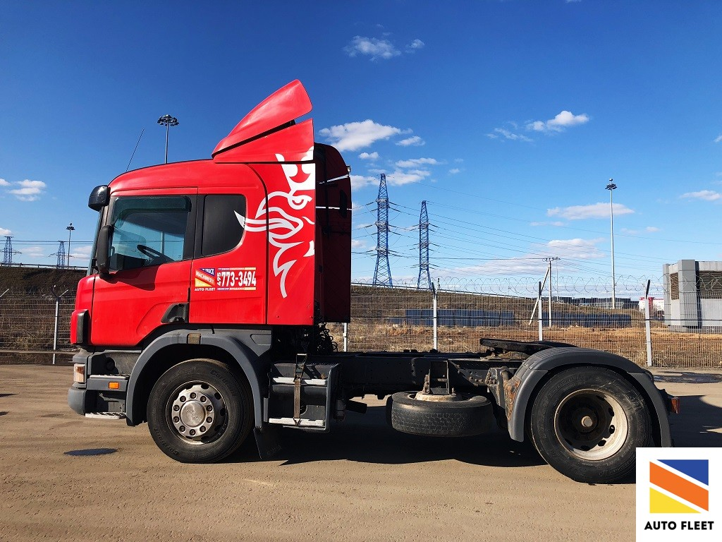 Scania P340 тягач седельный