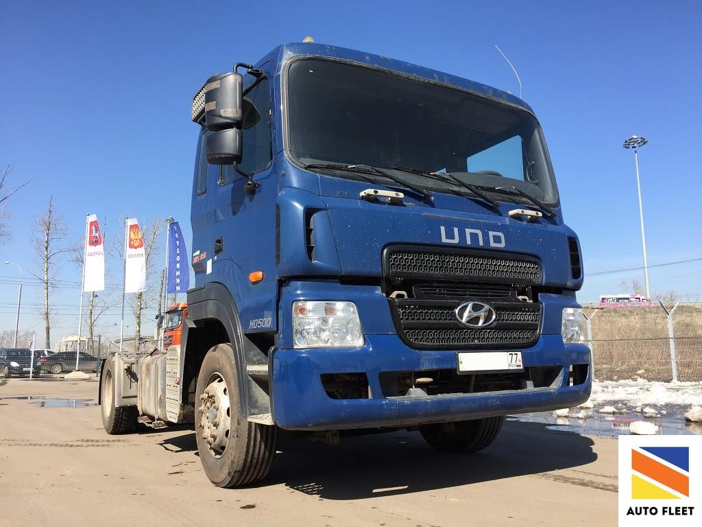 Hyundai HD 500 тягач