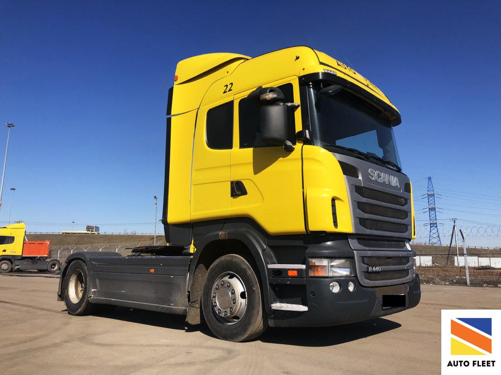 Scania тягач седельный