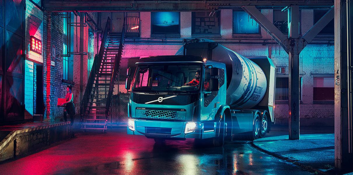 электрогрузовик Volvo
